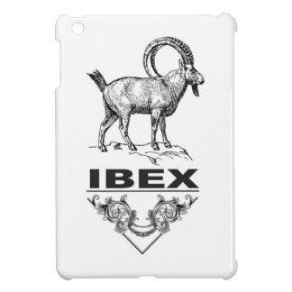 Fancy Ibex animal iPad Mini Case