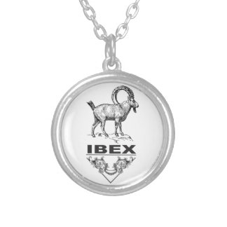 Fancy Ibex animal Silver Plated Necklace