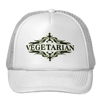 Fancy in Black - Vegetarian Trucker Hat