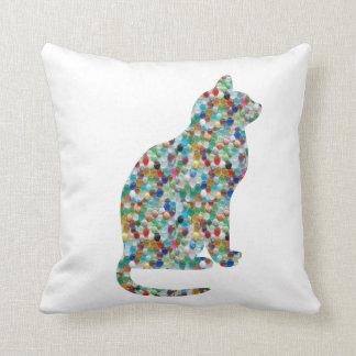 FANCY Jewel Throw Pillow Cats Animals