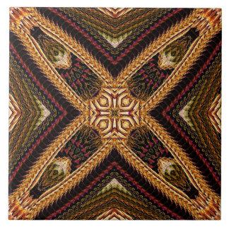 Fancy Knit-Like Motif Tile