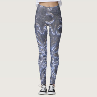 Fancy Leggings with a Beautiful Coin 5 Francs 1962