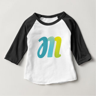 Fancy Letter M Baby T-Shirt