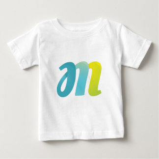 Fancy Letter M Baby T-Shirt