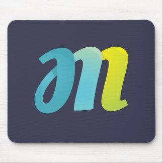 Fancy Letter M Mouse Pad