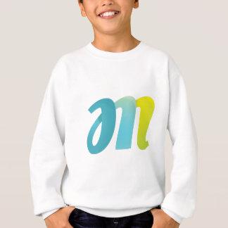 Fancy Letter M Sweatshirt