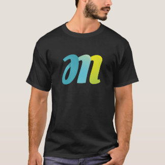 Fancy Letter M T-Shirt