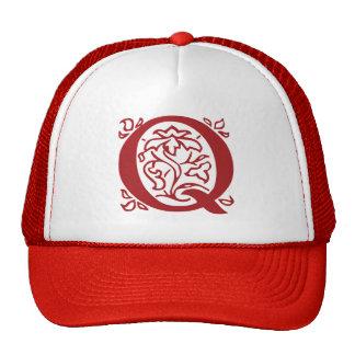 Fancy Letter Q Trucker Hat