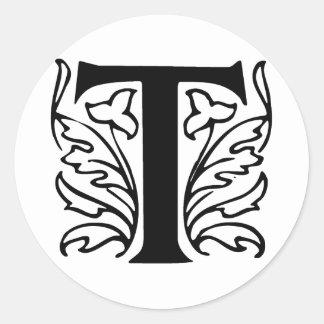 Fancy Letter T Designs