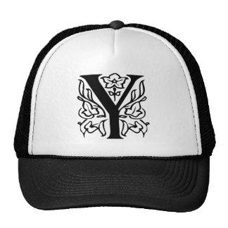 Fancy Letter Y Trucker Hat
