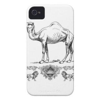 fancy lion camel Case-Mate iPhone 4 case