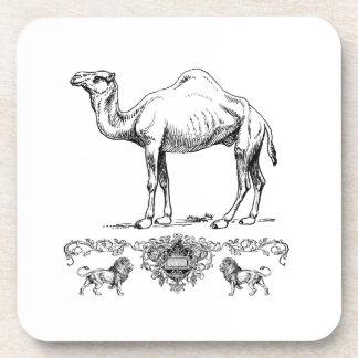 fancy lion camel coaster
