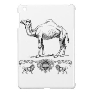 fancy lion camel iPad mini cases