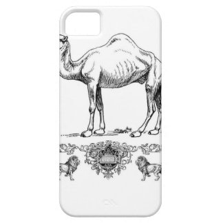 fancy lion camel iPhone 5 cover