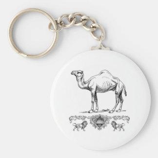 fancy lion camel keychain