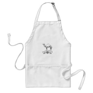 fancy lion camel standard apron