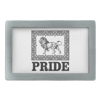 Fancy lion pride belt buckle
