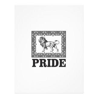Fancy lion pride letterhead