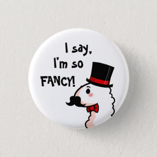 Fancy Llama Button