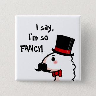 Fancy Llama Button
