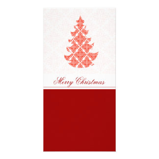 Fancy Luxury Christmas Photo Card Template