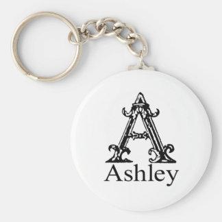 Fancy Monogram: Ashley Keychain