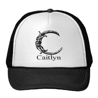 Fancy Monogram: Caitlyn Trucker Hat