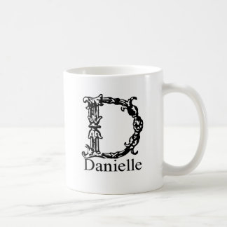 Fancy Monogram: Danielle Coffee Mug