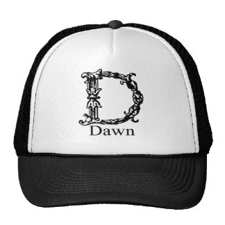 Fancy Monogram: Dawn Trucker Hat