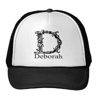 Fancy Monogram: Deborah Trucker Hat