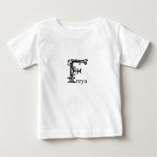 Fancy Monogram: Freya Baby T-Shirt