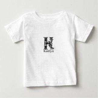 Fancy Monogram: Kaitlyn Baby T-Shirt