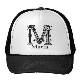 Fancy Monogram: Marta Trucker Hat