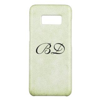 Fancy Monogram Minimalist Texture Case-Mate Samsung Galaxy S8 Case