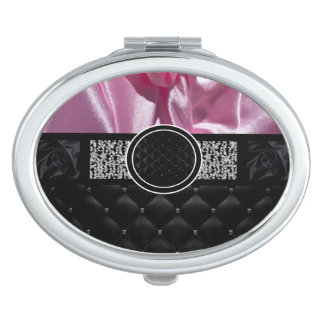 Fancy Monogram Mirror For Makeup
