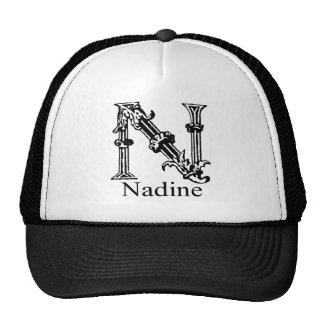 Fancy Monogram: Nadine Trucker Hat