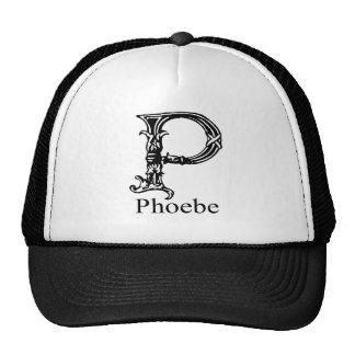 Fancy Monogram: Phoebe Trucker Hat