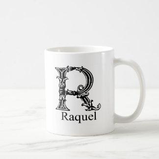 Fancy Monogram: Raquel Coffee Mug