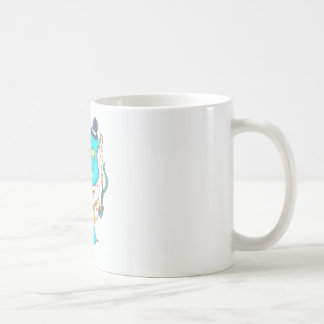 Fancy Mr Narwhal Coffee Mug