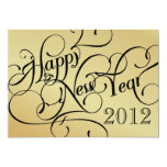 Fancy New Year's Eve Party Invitations