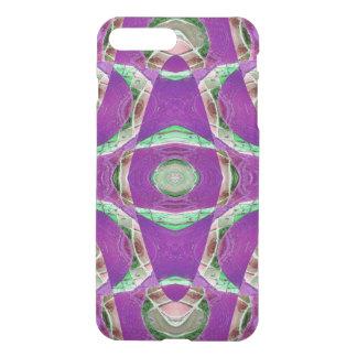 Fancy ornate purple pattern iPhone 7 plus case
