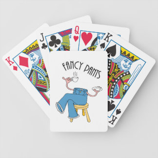 Fancy Pants Bicycle Playing Cards