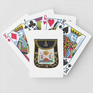 Fancy Past Masters Apron Bicycle Playing Cards