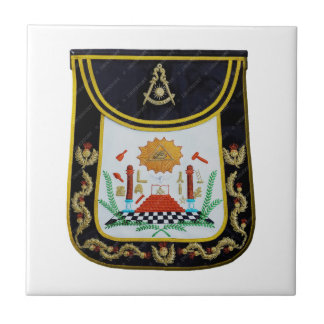 Fancy Past Masters Apron Ceramic Tile