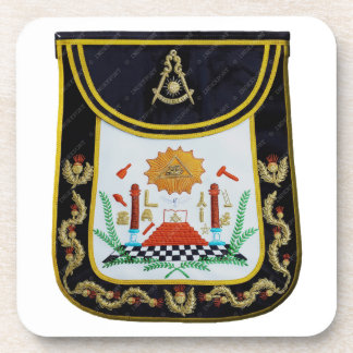 Fancy Past Masters Apron Coaster