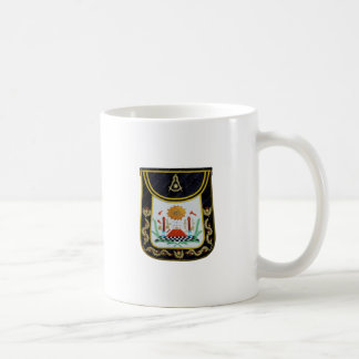 Fancy Past Masters Apron Coffee Mug