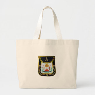 Fancy Past Masters Apron Large Tote Bag