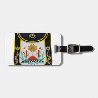Fancy Past Masters Apron Luggage Tag