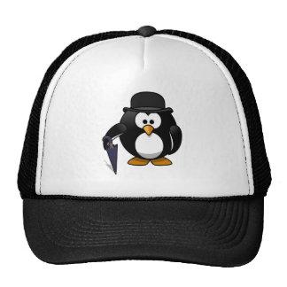 Fancy Penguin Mesh Hat