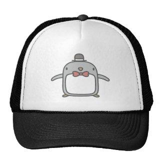 Fancy Penguin Trucker Hat